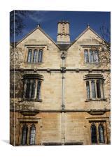 Christ Church College Oxford, Canvas Print