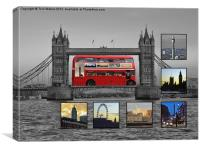City of London Iconic Views, Canvas Print