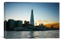 The Shard, London Bridge Tower, Canvas Print
