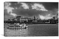 Riverboat Shuffle, Canvas Print