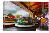 Bumper Cars, Canvas Print