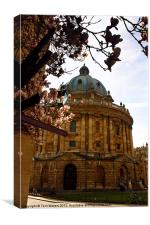 Radcliffe Camera Reading Rooms Oxford, Canvas Print
