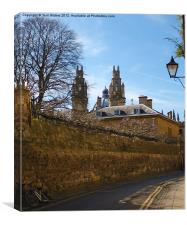 All Souls College from Queen's Lane Oxford, Canvas Print