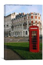 South Western House Telephone Box, Canvas Print