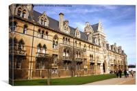 Meadow Building Christ Church College Oxford, Canvas Print