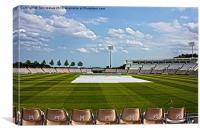 Hampshire County Cricket Ground, Canvas Print