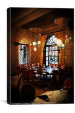 Grand Cafe Southampton, Canvas Print