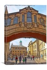 Classic Oxford, Canvas Print