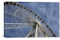 English Riviera Wheel Torquay, Canvas Print