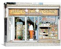 The Bon Bon Shop Torquay, Canvas Print