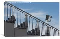 Stadium Seating, Canvas Print
