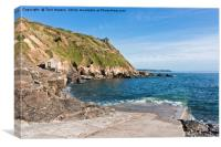 Priest's at Cove Cape Cornwall , Canvas Print