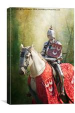 Red Knight, Canvas Print