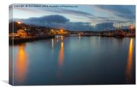 Falmouth Inner Harbour, Canvas Print