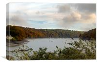 The view From Malpas, Canvas Print