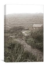 Old Penberth, Canvas Print