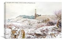 Ale and Cake Mine in the Snow, Canvas Print