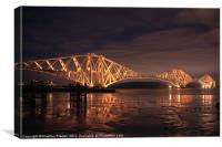 Forth Bridge, Canvas Print