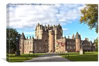 Glamis Castle, Canvas Print