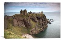 Dunottar Castle, Canvas Print