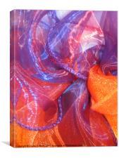 Wedding Ribbons, Canvas Print