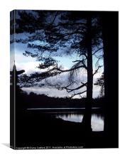 High Dam, Cumbria, nightfall.