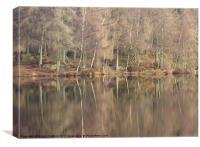 Reflections, Cumbria, Canvas Print