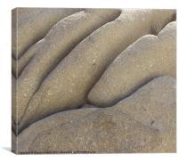 Coastal Rocks of Greek Island, Canvas Print
