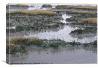 Kyson Point Estuary, Woodbridge, Suffolk, Canvas Print
