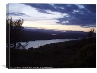 Lake Windermere from Gummers How, Canvas Print