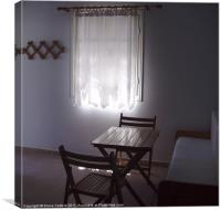 Simple light in Provatas apartment, Canvas Print