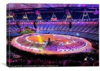 London Olympics Opening Ceremony Rehearsal