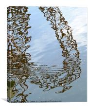 Orbit reflection Olympic Park 2, Canvas Print