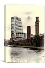 Bridgewater Place, Leeds., Canvas Print