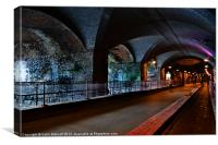 The Dark Arches, Canvas Print