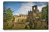 Kirkstall Abbey #2, Canvas Print