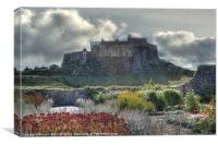 Lindisfarne Castle (Holy Island), Canvas Print