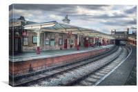 Platform 4, Canvas Print