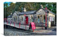 Ingrow West Station., Canvas Print