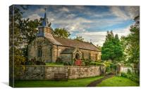 Saint Aidan's Church, Gillamoor., Canvas Print