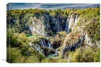 Plitvice National Park, Croatia., Canvas Print