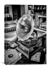 His Master's Voice, Canvas Print