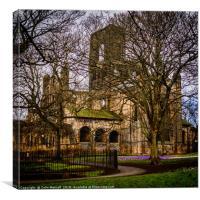 Kirkstall Abbey, Canvas Print