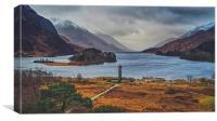 Glenfinnan Monument, Canvas Print