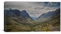 Down Glencoe Pass