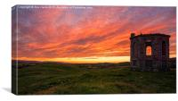 Kenmure Hill Sunrise, Canvas Print