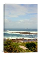 Looking out from Sennen, Canvas Print