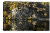 Autumn mirror, Canvas Print