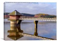 Cropston Reservoir, Leicestershire 2, Canvas Print