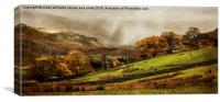 The Engish Lake District, Canvas Print